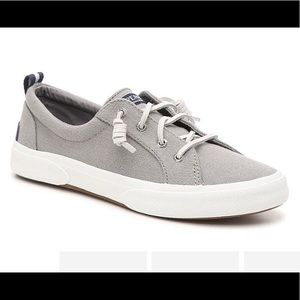 NEW! Gray Sperry slip on sneakers size 9